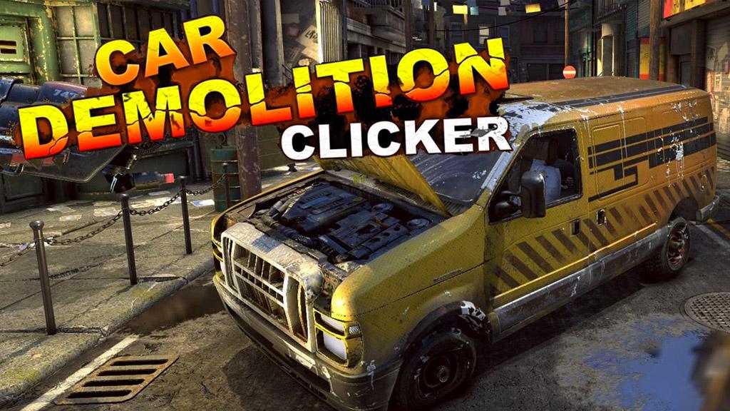 Car Demolition Clicker - Demolish Games S.A.